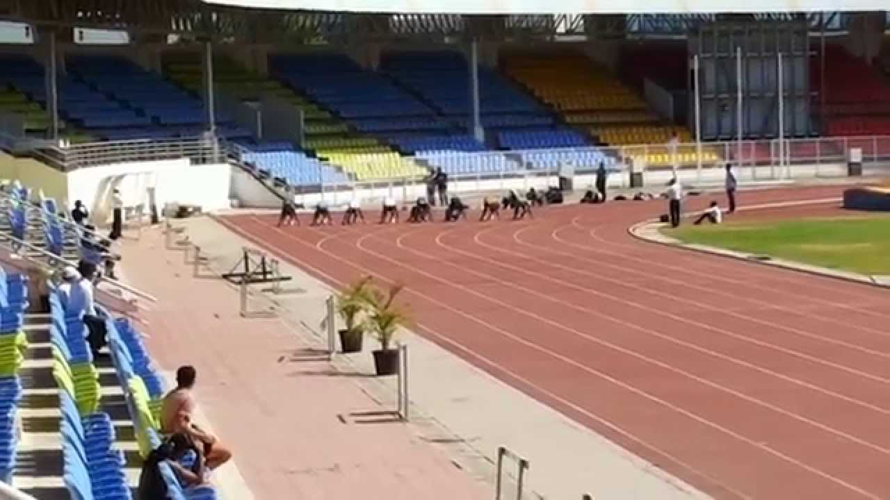 Maharashtra 100meter State Record Race 10 00sec Youtube