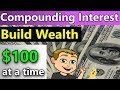 Compounding Interest Examples Using $100 (Free Excel Annual Compounding Interest  Spreadsheet)