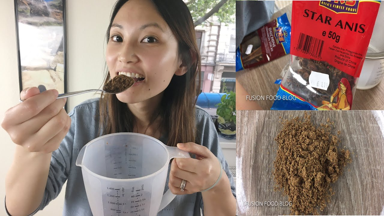 Food Recipe Chinese Five Spice Powder