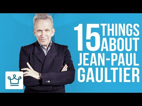 15 Things You Didn't Know About Jean Paul Gaultier