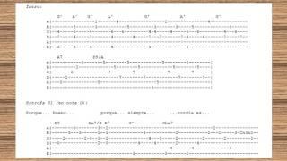 MARCOS WITT - Porque Tú eres bueno (Tablatura en Guitarra)