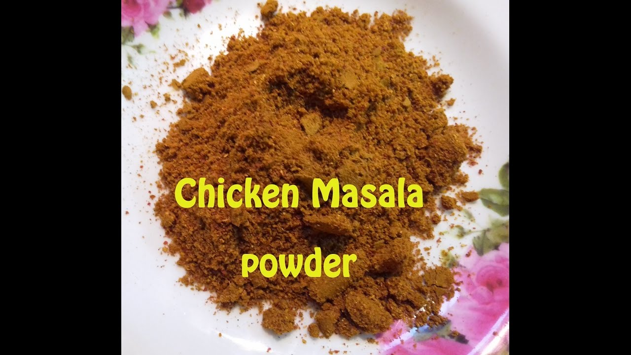 how to make dalcha masala powder