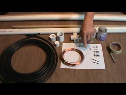 6 Meter Delta Loop Antenna, Part 3 of 13