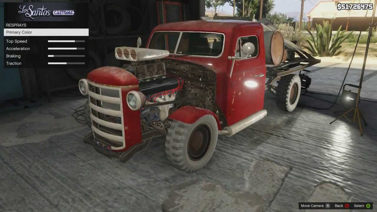 Gta 5 Pimp My Rat Loader Youtube