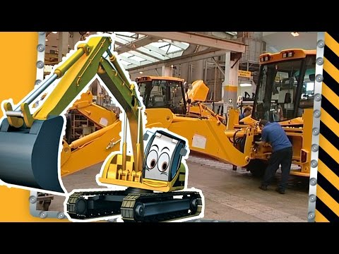 How To Build A JCB Digger for Children | JCB Video For Children
