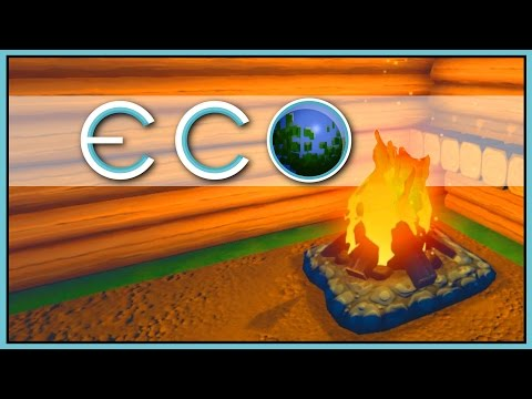 Hunting & Cooking - Eco Gameplay - Part 3 [Let's Play Eco Game / Eco Gameplay]