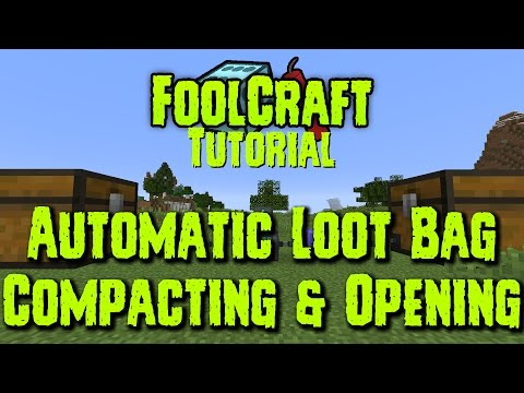 Loot Bag Automation Tutorial In Sky Factory 2 1 7 10 Doovi