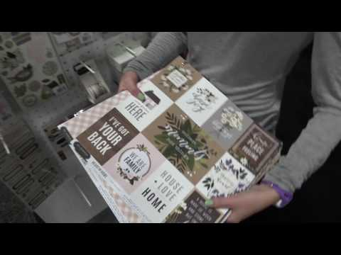 Heart Of Home Collection By Pebbles | American Crafts | Mixed Media Event 2017