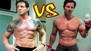 Sylvester Stallone vs Mark Wahlberg Transformation 2018