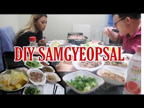 DIY SAMGYEOPSAL AT HOME(TIPID VERSION)   GENEVLOGS