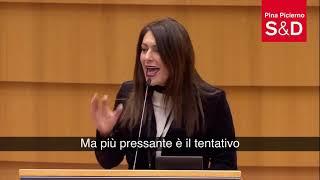 Intervento in Plenaria di Pina Picierno sul divieto dell'aborto in Polonia.