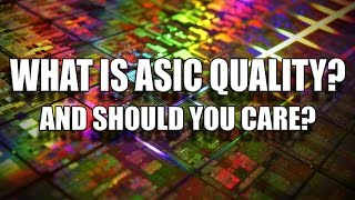 What is ASIC Quality and how does it affect overclocking?