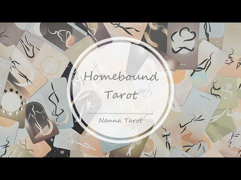 開箱  歸鄉塔羅牌 • Homebound Tarot // Nanna Tarot