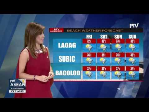 PAGASA, nagpalabas ng Thunderstorm warning sa Laoag, Northern Mindanao, at Davao region