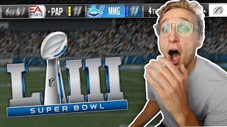The Most IMPORTANT Game of the Year! SUPERBOWL 53! Wheel of MUT! Ep. #29