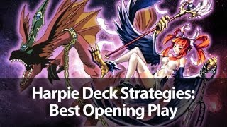 Yu-Gi-Oh! Harpie Deck Strategies: Best Opening Play