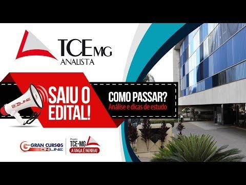 Concurso TCE-MG | Análise do Edital e dicas de estudo - Como Passar?