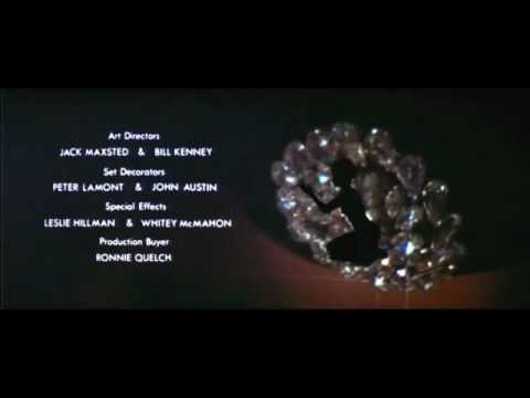 007 James Bond Diamonds Are Forever intro  Shirley Bassey