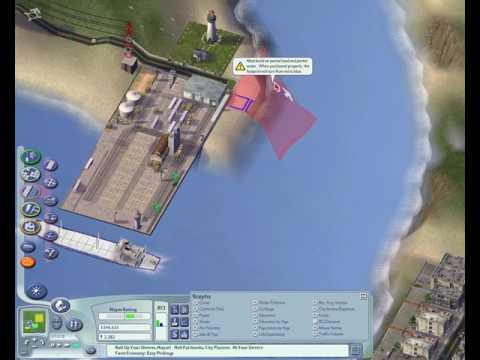 SimCity 4 - Building a whole region Part 1