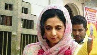 sridevi makes a surprise visit to ajmer dargah bt