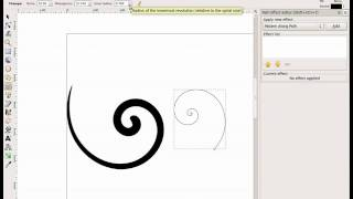 Creating Vector Flourishes and Swirls  in Inkscape