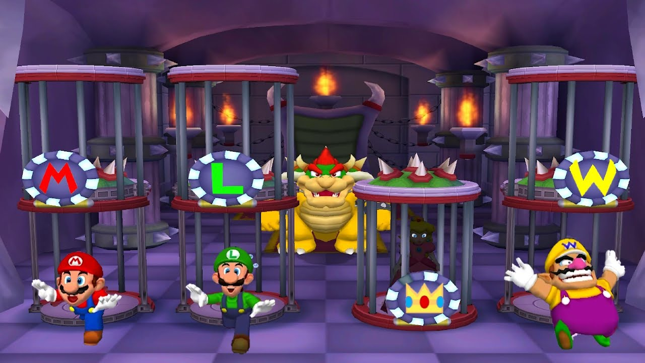 Mario Party Series - Dangerous Minigames (Master Difficulty)