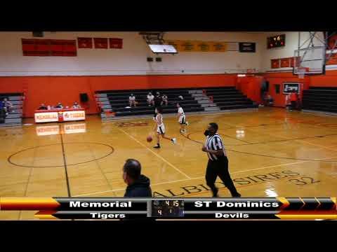 MHS Girls JV Basketball vs Saint Dominic Academy 2 4 2021