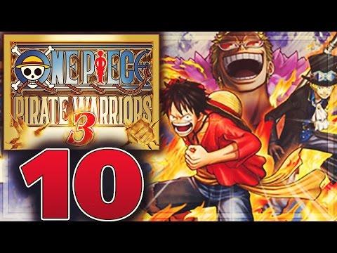 One Piece Pirate Warriors 3 Walkthrough Part 10 | Ch.2 Ep.4 Adventure on Kami's Island