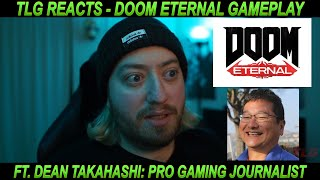 Dean Takahashi playing DOOM Eternal is INSANE