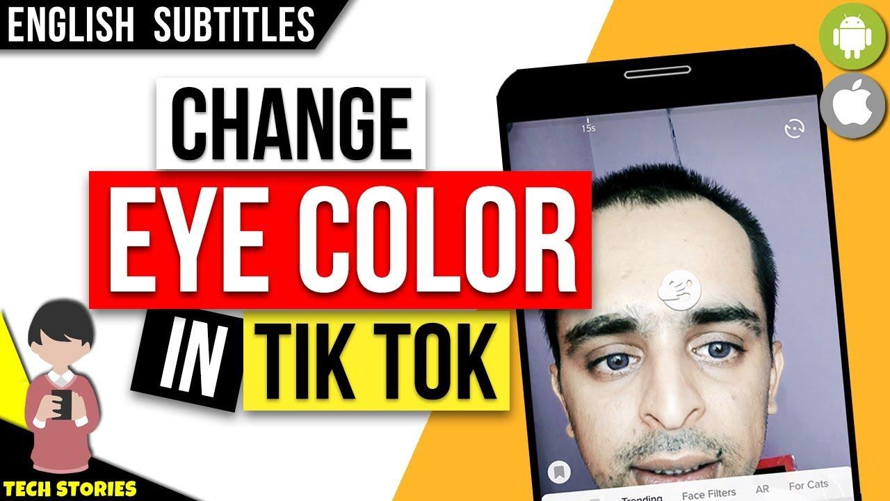 tik tok new Videoes eyes color change Challenge TikTok ...  |Tiktok Eye Color Chart