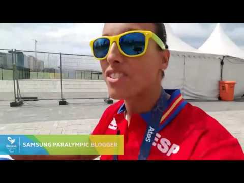 Every athlete needs some downtime... | Samsung Paralympic Bloggers