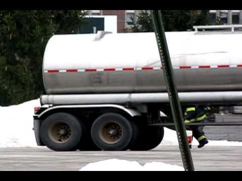 Leaking Tanker Truck