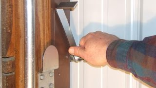 SLIDING DOOR LOCK | SLIDING DOOR LOCK WITH KEY | SLIDING DOOR LOCK INSTALLATION