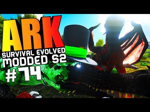 ARK Survival Evolved - KARKINOS WARDEN BOSS FIGHT, WYVERN & DODOREX TAMING Modded #74 (ARK Gameplay)