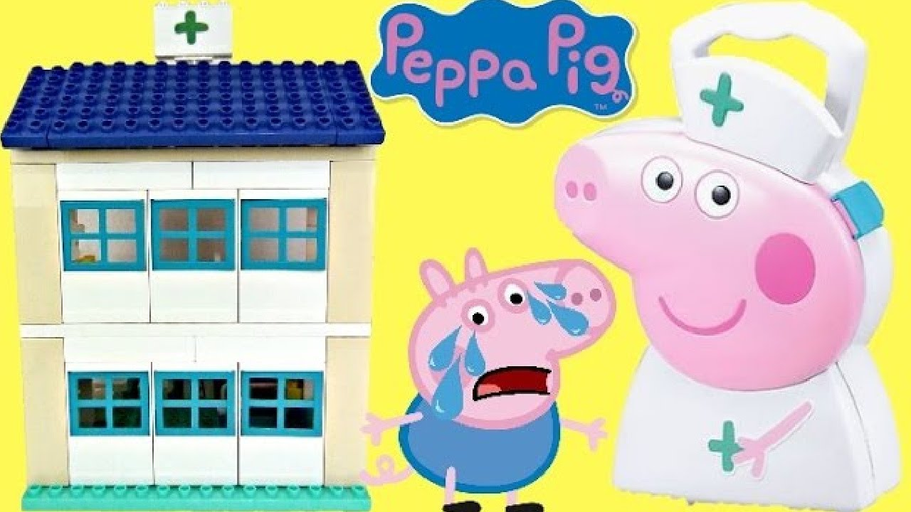 Download Peppa Pig's Family Hospital Building and Construction Set