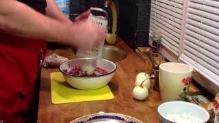 Чебуреки Заварное тесто и рубленное мясо рецепты
