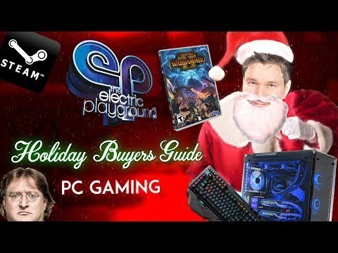PC Gaming Gift Ideas! - Holiday Gift Guide 2017 - Electric Playground