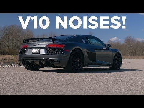 Audi R8 V10 - SuperSprint Exhaust Sounds