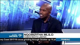 Mugabe's Resignation: Human Rights lawyer, Nqobizitha Mlilo