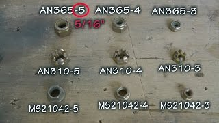 How to Select a Lock Nut for your Homebuilt Aircraft