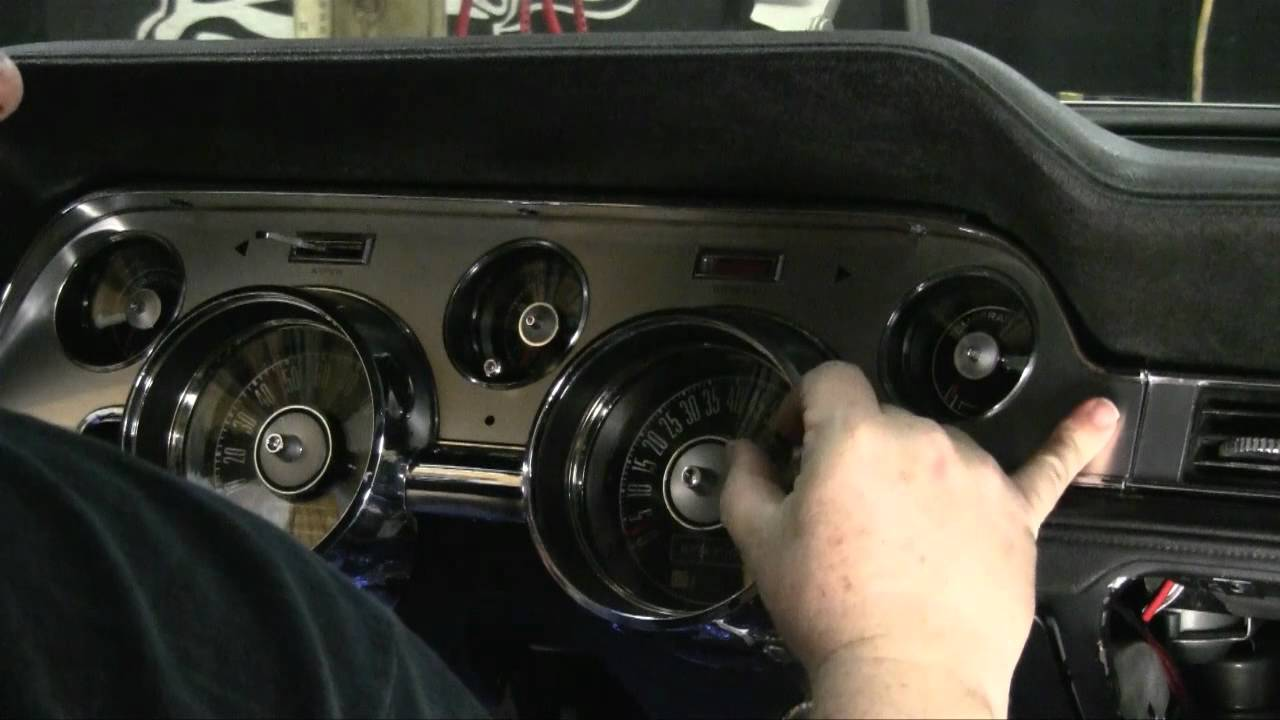 1968 Mustang Instrument Cluster - Episode Mustang And Cougar Interior Tips And Tricks Autorestomod Youtube - 1968 Mustang Instrument Cluster