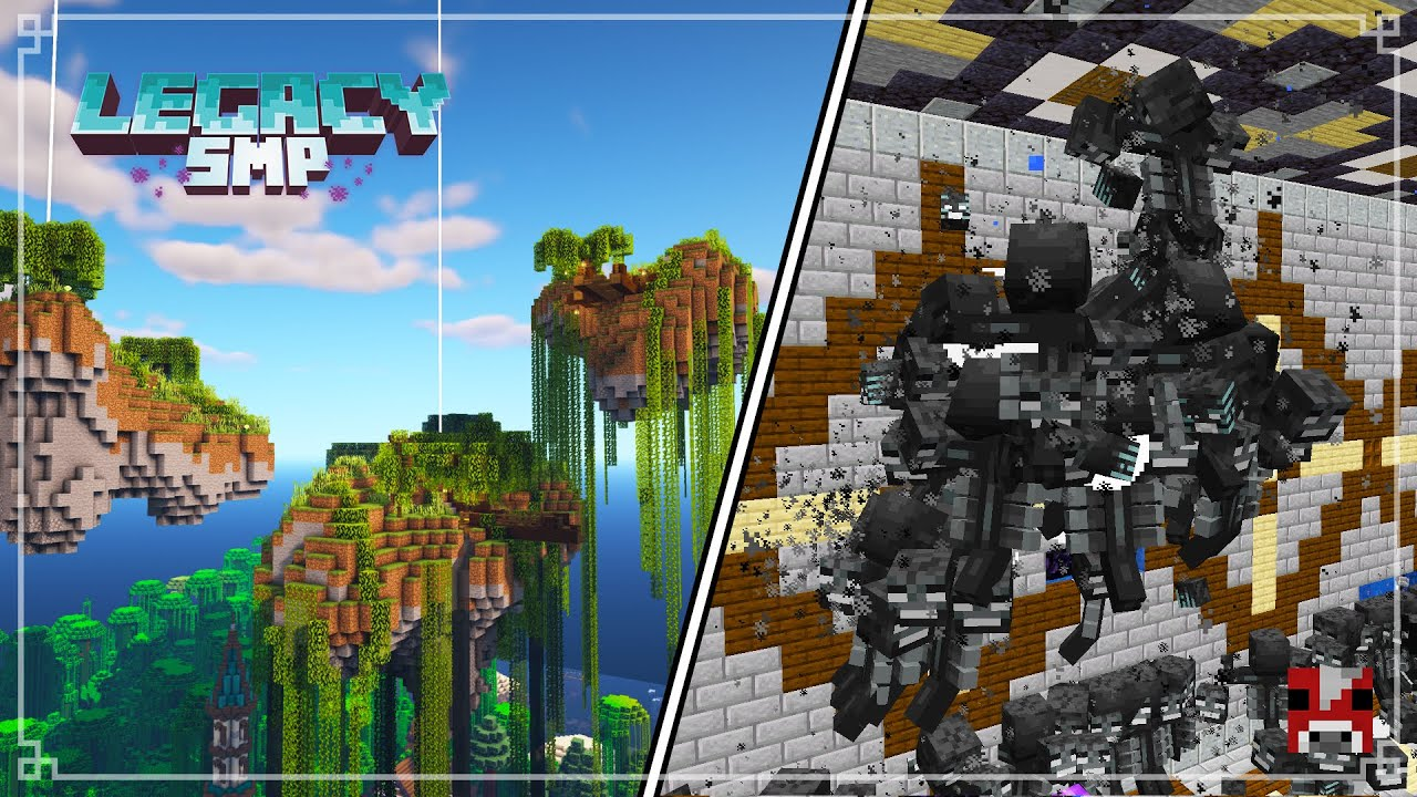 Legacy SMP - EPIC WITHER FIGHTS with the LEGATES | Survival Minecraft 1.16