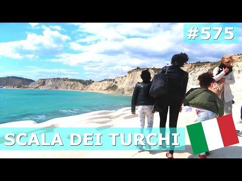 ITALY SICILY SCALA DEI TURCHI DAY 575 | TRAVEL VLOG IV