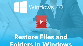 How to Restore Documents in Windows 10 from External Hard Drive