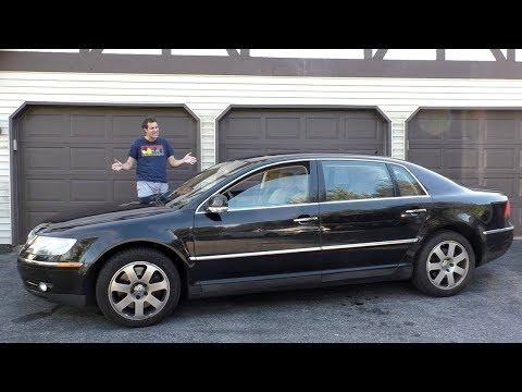 Volkswagen Phaeton W12 был ультра-люксовым седаном VW за $120 000