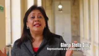 Saludo especial en el Día de la Mujer - Representante Gloria Stella Díaz