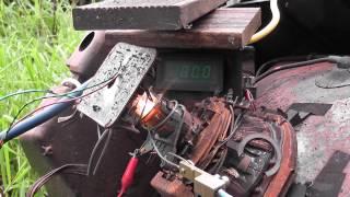 Variac repair - meter box and TV CRT vent