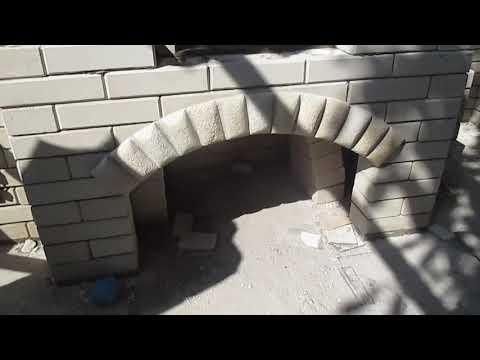 Мангал и печь под казан из кирпича своими руками.Barbeque din caramida,procesul de lucru.