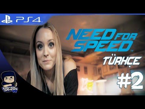 Need For Speed PS4 Bölüm 2 : Robyn İle Drfit Dersi !