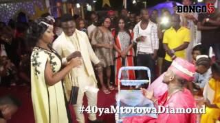 40 ya mtoto wa Diamond: Aunt Ezekiel na Mose Iyobo wamwaga manoti kwa Diamond